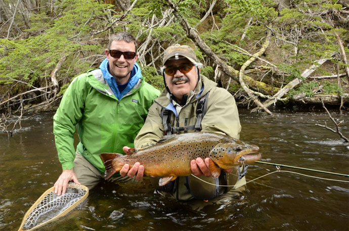 Explorando isla navarino patagonia chile for Elk river wv trout fishing