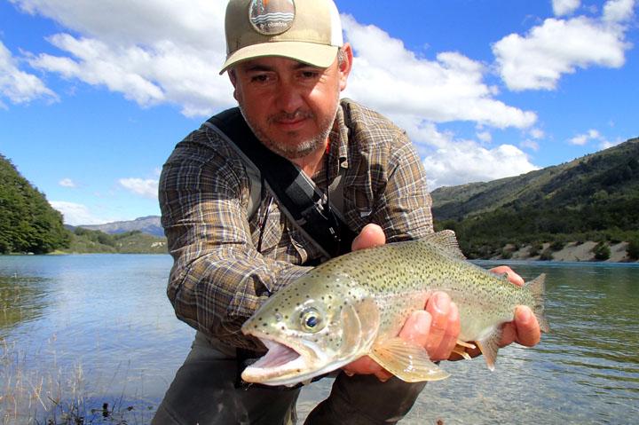 Trota arcobaleno del sud e Patagonia del Cile